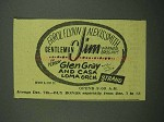1942 Gentleman Jim Movie Ad - Errol Flynn