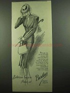 1939 Bradleys Suit Ad - Between Season Prices