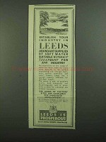 1939 Leeds Development Ad - Your Industry