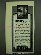 1939 The Columbus Hotel At - Miami's Finest Bayfront