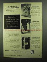 1950 Eagle-Picher Ad - Super 66 Insulating Cement