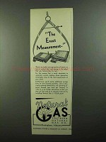 1950 Southern Natural Gas Company Ad - Measurement