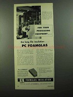 1950 Pittsburgh Corning Foamglas Insulation Ad