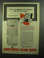 1950 Armstrong Steam Traps Ad - You Can Engineer