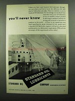 1950 Standard Oil Ad - You'll Never Know