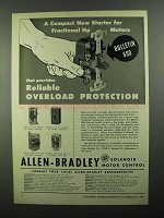 1950 Allen-Bradley Bulletin 600 Starting Switches Ad