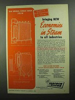 1950 Babcock & Wilcox Integral-Furnace Boiler, FH Ad - New Economies