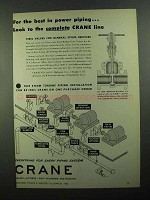 1950 Crane Cast Steel Wedge Gate Valves Ad - The Best