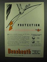 1950 Anaconda Densheath Thermoplastic TW Wire Ad - Protection