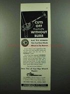 1937 Ridgid Pipe Tools Thin Tool-Steel Blade Wheel Ad