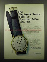 1969 Electronic Timex Watch Model 99041 Ad
