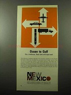 1969 New Mexico Industrial Division Ad - Ocean to Gulf