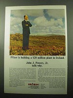1969 Irish Industrial Development Authority Ad - Pfizer