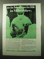 1969 Milwaukee Division of Economic Development Ad