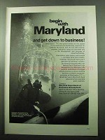 1969 Maryland Department of Economic Development Ad