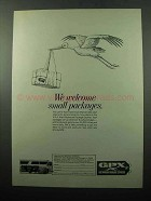 1969 Greyhound Package Express GPX Ad - We Welcome