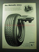 1969 Michelin X Radial Tire Ad - The Story