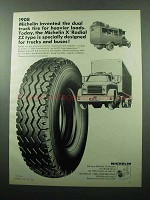 1969 Michelin X Radial ZZ Type Truck Tire Ad - Heavier