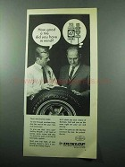 1969 Dunlop Elite Tire Ad - How Good