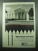 1969 Discover America Ad - Open House Next Door