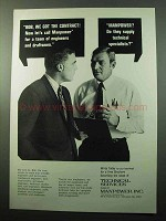 1969 Manpower Technical Services Ad - We Got Contract