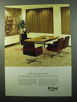 1969 All-Steel Office Furniture Ad - Says Success