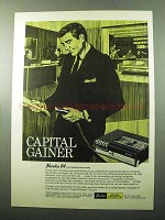 1969 Norelco 84 Dictating Machine Ad - Capital Gainer
