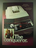 1969 Facit 1051 Printing Calculator Ad - The Conqueror
