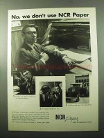 1969 NCR Paper Ad - No, We Don't Use NCR Paper