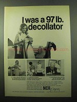 1969 NCR Paper Ad - I Was a 97 lb. Decollator