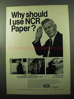 1969 NCR Paper Ad - Why Should I Use NCR Paper?