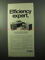 1969 Friden 5610 Computyper Ad - Efficiency Expert