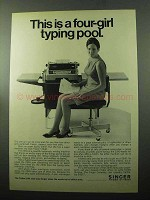 1969 Friden 2340 Automatic Writing Machine Ad