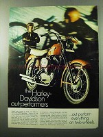 1969 Harley-Davidson Sportster Motorcycle Ad