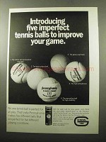 1969 Pennsylvania Centre Court Tennis Balls Ad