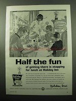 1969 Holiday Inn Ad - Half the Fun