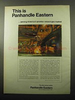 1969 Panhandle Eastern Ad - Natural Gas Market