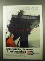 1969 Tenneco Newport News Shipbuilding & Dry Dock Ad - Our Business