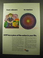 1969 UOP Universal Oil Products Company Ad - Reactors