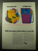 1969 UOP Universal Oil Products Company Ad - Skyways