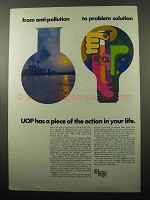 1969 UOP Universal Oil Products Company Ad - Solution