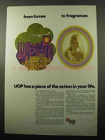1969 UOP Universal Oil Products Company Ad - Fragrances