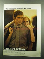1969 Career Club Shirts Belgrave Square Ad