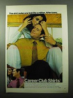 1969 Career Club Shirts Ad - Belgrave Square
