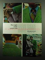 1969 Gant Jamaica Striped Broadcloth Shirt Ad