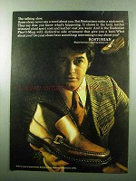 1969 Bostonian Flex-O-Mocs Shoes Ad - The Talking Shoe
