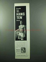 1969 Hang Ten Garland Print Swimsuit Ad, Mark Martinson