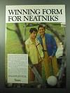 1969 Sears Perma-Prest Golf Jacket Ad - For Neatniks