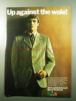 1969 h.i.s. Norfolk Jacket Ad - Up Against the Wale