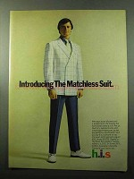 1969 h.i.s. Matchless Suit Ad